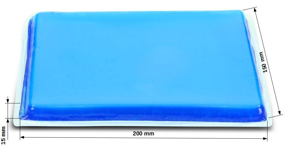 cuscino gel sella moto per ducati multistrada 1200 ebay. Black Bedroom Furniture Sets. Home Design Ideas