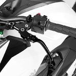 Motorcycle Clutch Lever V-Trec Performance Line folding universal black Pic:4