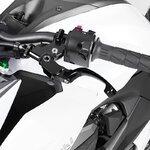 Motorcycle Clutch Lever V-Trec Performance Line folding universal black Pic:5