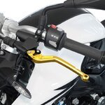 V-Trec Brake + Clutch Lever Set short / long Yamaha MT-09 13-19 Pic:4