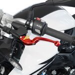 V-Trec Safety Bremshebel + Kupplungshebel Set klappbar mit ABE Ducati Monster 696 08-14 Pic:5