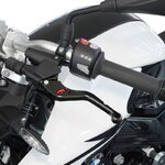 V-Trec VX Brake + Clutch Lever Set short / long Triumph Street Triple RS 17-18 Pic:1