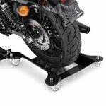 Motorrad Rangierschiene ConStands Motomover M2 schwarz Pic:4