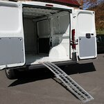 Constands aluminium loading ramp  II, max. 340 kg, folding, for motorbike, scooter, quad, ATV Pic:3