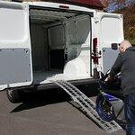 Constands aluminium loading ramp  II, max. 340 kg, folding, for motorbike, scooter, quad, ATV Pic:4