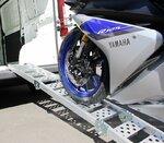 Alu Auffahrrampe Constands III, bis 300 kg, dreifach zusammenklappbar, für Motorrad, Scooter, Quad, ATV Pic:3