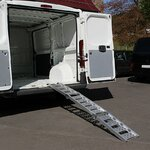 Aluminium loading ramp Constands III, max. 300 kg, triple folding, for Motorbike, Scooter, Quad, ATV Pic:5