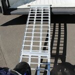 Aluminium Loading Ramp Constands V, max. 750 kg, folding, for Motorcycle, Scooter, Quad, ATV Pic:6