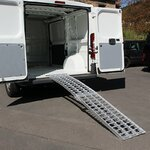 Aluminium Loading Ramp Constands V, max. 750 kg, folding, for Motorcycle, Scooter, Quad, ATV Pic:4
