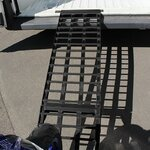 Aluminium Loading Ramp Constands V black, max. 750 kg, folding, for Motorcycle, Scooter, Quad, ATV Pic:6