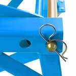 Hydraulic Scissor Lift Dolly ConStands Moto Cross XL + Castors Blue Pic:4