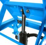 Hydraulic Scissor Lift Dolly ConStands Moto Cross XL + Castors Blue Pic:10