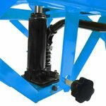 Hydraulic Scissor Lift Dolly ConStands Moto Cross XL + Castors Blue Pic:9