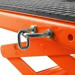 Hydraulic Scissor Lift Dolly ConStands Moto Cross XL + Castors Orange Pic:10