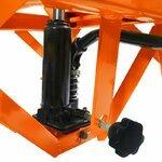 Hydraulic Scissor Lift Dolly ConStands Moto Cross XL + Castors Orange Pic:6