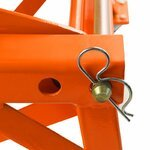 Hydraulic Scissor Lift Dolly ConStands Moto Cross XL + Castors Orange Pic:5