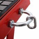 ConStands Hydraulik Hebebühne Moto Cross Lift XL + Räder rot Pic:5