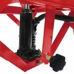 ConStands Hydraulik Hebebühne Moto Cross Lift XL + Räder rot Pic:4