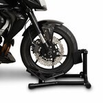ConStands Motorcycle Paddock Stand Wheel Chock Easy Black Pic:4