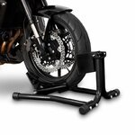 ConStands Motorcycle Paddock Stand Wheel Chock Easy Black