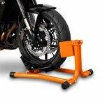 ConStands Motorcycle Paddock Stand Wheel Chock Easy Orange