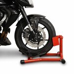 ConStands Motorcycle Paddock Stand Wheel Chock Easy Red Pic:4