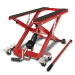 Motorcycle Jack Scissor Hydraulic Lift ConStands XL red Pic:2