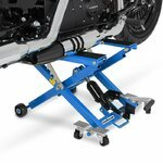 Motorcycle Jack Scissor Hydraulic Lift ConStands XL blue