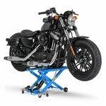 Motorrad Hebebühne Scherenheber Hydraulik-Lift ConStands XL blau Pic:3
