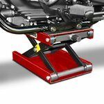 Motorcycle jack scissor lift ConStands M red Pic:3
