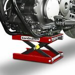Motorcycle jack scissor lift ConStands M red Pic:4