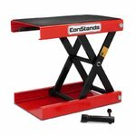 Motorcycle jack scissor lift ConStands M red Pic:1