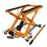 Motorrad Hebebühne Scherenheber Hydraulik-Lift ConStands XL orange Pic:2
