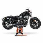 Jack Scissor Hydraulic Lift ConStands L black-orange Pic:3