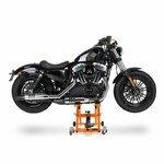 Motorrad Hebebühne Scherenheber Hydraulik-Lift ConStands XL orange Pic:1