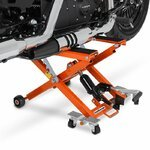 Motorcycle Jack Scissor Hydraulic Lift ConStands XL orange