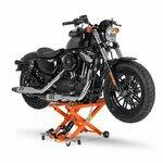 Motorrad Hebebühne Scherenheber Hydraulik-Lift ConStands XL orange Pic:3