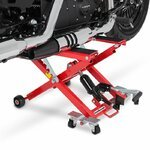Motorcycle Jack Scissor Hydraulic Lift ConStands XL red
