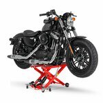 Motorcycle Jack Scissor Hydraulic Lift ConStands XL red Pic:3