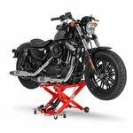 Motorrad Hebebühne Scherenheber Hydraulik-Lift ConStands XL rot Pic:3