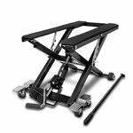 Motorcycle Jack Scissor Hydraulic Lift ConStands XL black Pic:2