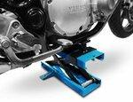 Motorrad Hebebühne Scherenheber Lift ConStands Mini blau Pic:8
