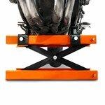 Motorcycle jack scissor lift ConStands Mini orange Pic:7