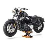 Motorcycle jack scissor lift ConStands Mini orange Pic:3