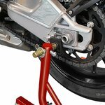 Dolly Rear Paddock Stand ConStands Mover II Racing red Pic:5