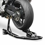 Dolly Rear Paddock Stand ConStands Mover II Racing black Pic:1
