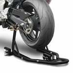 Motorcycle Rear Paddock Stand Dolly ConStands Mover II black matt Pic:1