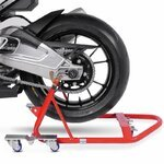 Dolly Rear Paddock Stand ConStands Mover I Universal red Pic:3