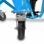 Hydraulic Scissor Lift Dolly ConStands Moto Cross XL + Castors Blue Pic:6