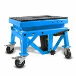 Hydraulic Scissor Lift Dolly ConStands Moto Cross XL + Castors Blue Pic:5